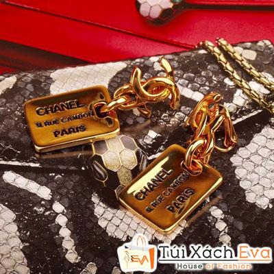 Bông Tai Chanel Super Hình Lưỡi Lam