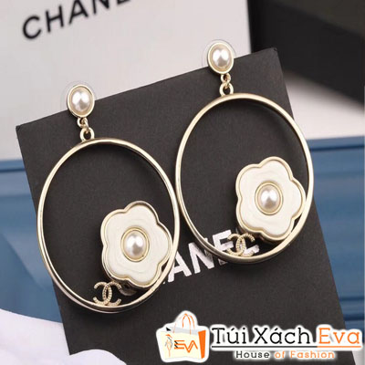 Bông Tai Chanel Super Tròn