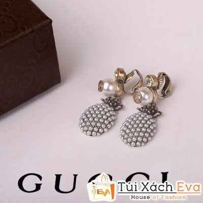 Bông Tai Gucci Quả Dứa Super