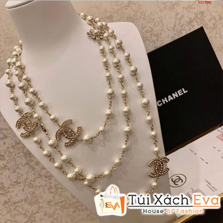 Chuỗi Ngọc Trai Chanel