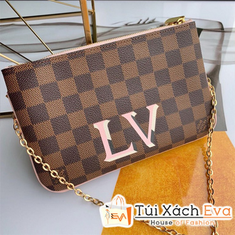 Clucth Lv Potchette Double Zip N60254