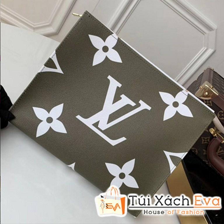 Clucth Lv Toilet Pouch Xl Siêu Cấp Màu Xanh M67692