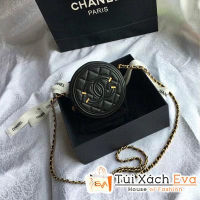 Cluth Chanel Siêu Cấp Tròn Màu Đen