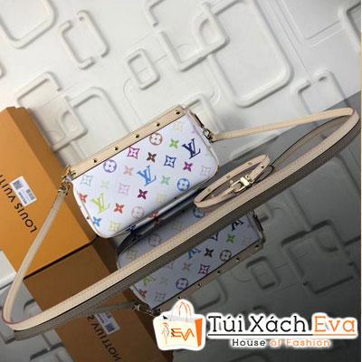 Cluth Lv  Pochette Accessoires  Siêu Cấp Màu Trắng M92649