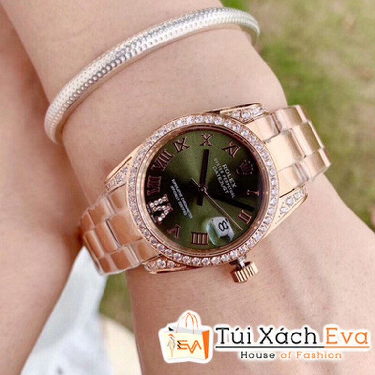 Đồng Hồ Rolex Nữ Mặt Đen