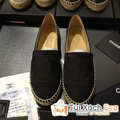Giày Bata Chanel Super Màu Đen