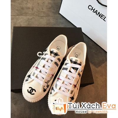 Giày Bata Chanel Super Màu Trắng