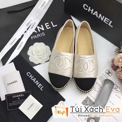 Giày Bata Chanel Super Màu Xám