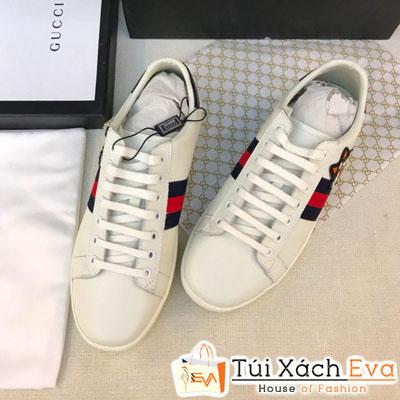 Giày Bata Gucci Super Màu Kem