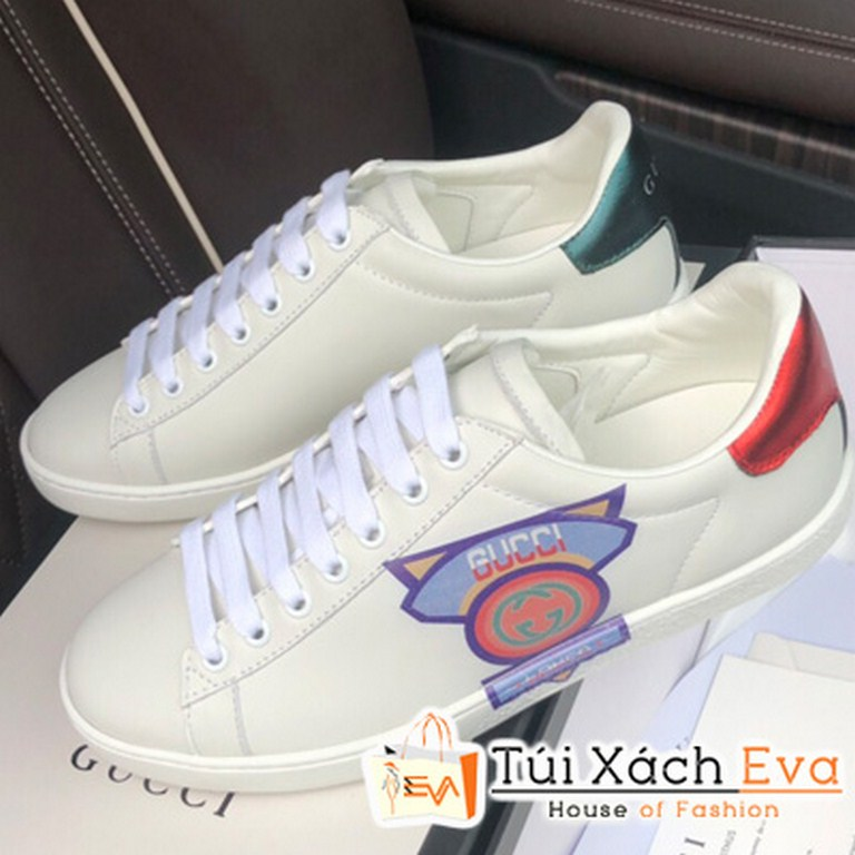 Giày Bata Gucci Super Màu Trắng