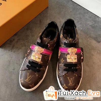 Giày Bata Lv Super 2018 Màu Nâu