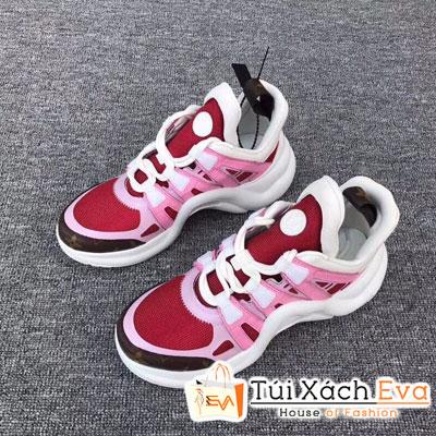 Giày Bata Lv Super Màu Đỏ