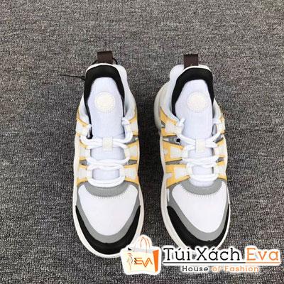 Giày Bata Lv Super Màu Vàng