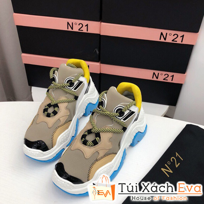 Giày balenciaga Bata N ° 21 Super Màu Xám