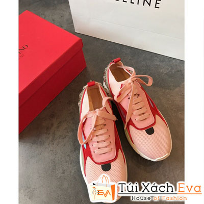 Giày Bata Valentino Màu Hồng