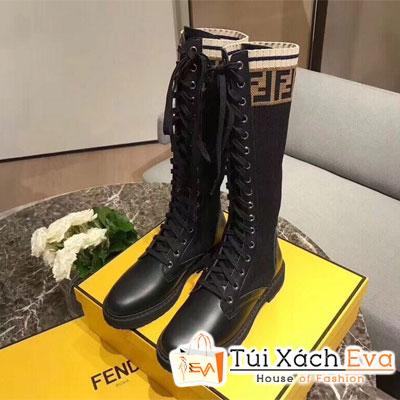 Giày Boot Fendi Super Màu Đen