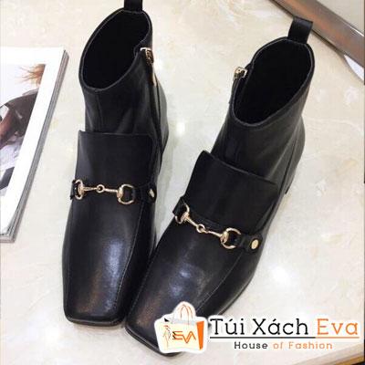 Giày Boot Gucci Super Màu Đen