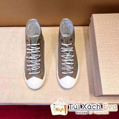 Giày Boot Lv Super Hoa Xám Lớp Lót Da Cừu (Có Nhung)