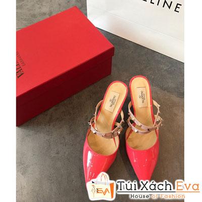 Giày Cao Gót Valentine Màu Đỏ