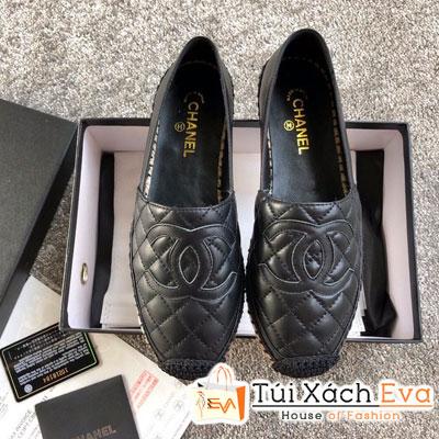 Giày Chanel Super Da Lì Màu Đen
