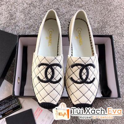 Giày Chanel Super Vải Màu Trắng