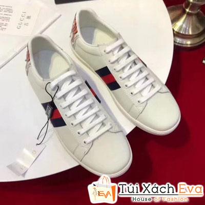 Giày Gucci Super Thiêu Hình Mặt Người