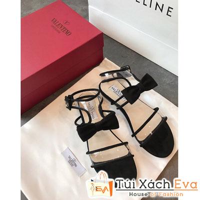 Giày Sandal Valentine Màu Đen