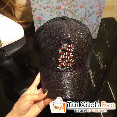 Mũ Gucci Super Hình Rắn Màu Đen Đẹp