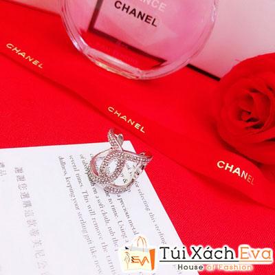 Nhẫn Chanel Super Bạc