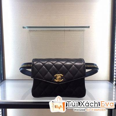 Túi Chanel 2017 Siêu Cấp Đeo Bụng Màu Đen