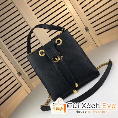 Túi Chanel Drawstring Bag Siêu Cấp Màu Đen AS0310