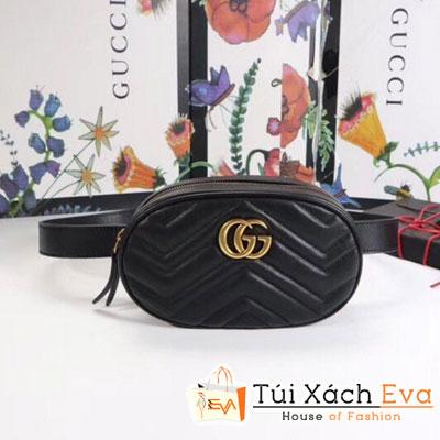 Túi Gucci Siêu Cấp Đeo Bụng Màu Đen