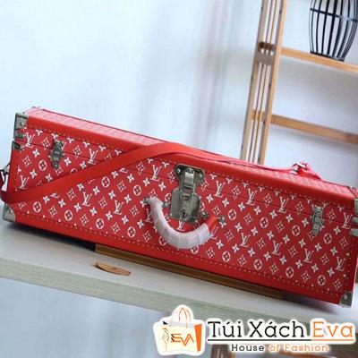 Túi Hộp Lv Supreme Siêu Cấp Màu Đỏ