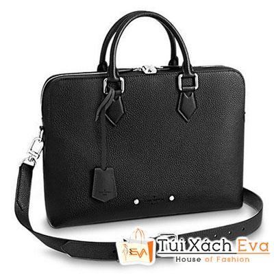 Túi Lv Armand Briefcase PM Siêu Cấp  Cặp Nam Màu Đen M53488