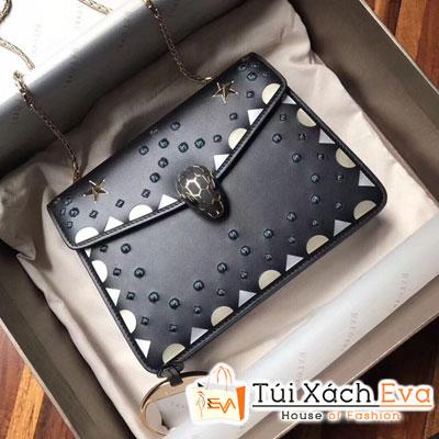 Túi Xách Bvlgari Siêu Cấp Màu Đen Phụ Kiện