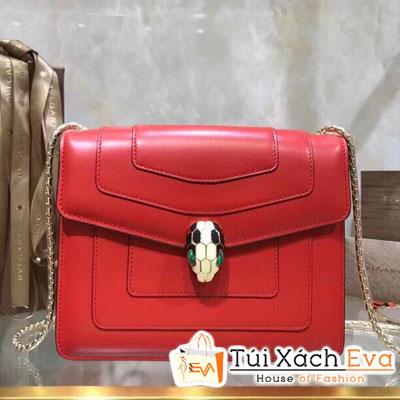 Túi Xách Bvlgari Siêu Cấp Màu Đỏ