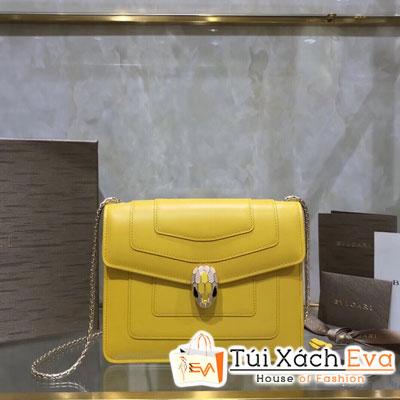 Túi Xách Bvlgari Siêu Cấp  Màu Vàng