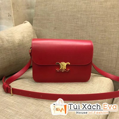 Túi Xách Celines Triope Siêu Cấp Màu Đỏ