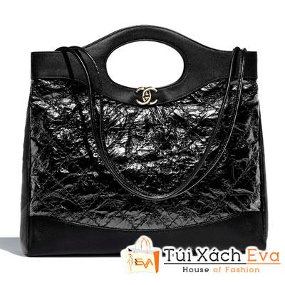 Túi Xách Chanel 31 Large Shopping Bag Siêu Cấp Màu Đen A57977