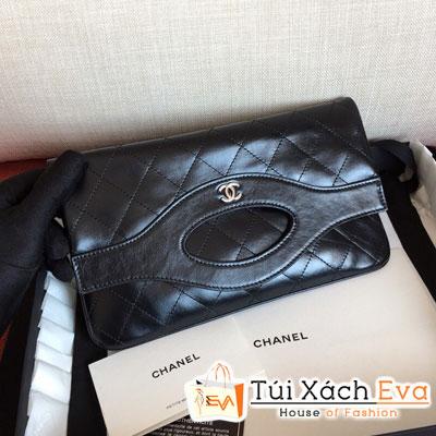 Túi Xách Chanel 31 Pouch Siêu Cấp  Màu Đen A70521