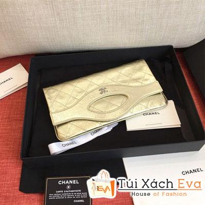Túi Xách Chanel 31 Pouch Siêu Cấp  Màu Vàng Đồng  A70521