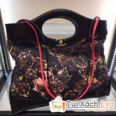 Túi Xách Chanel 31 Siêu Cấp Màu Đỏ Đen