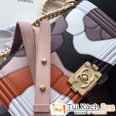 Túi xách Chanel Boy 2018 siêu cấp cam đất