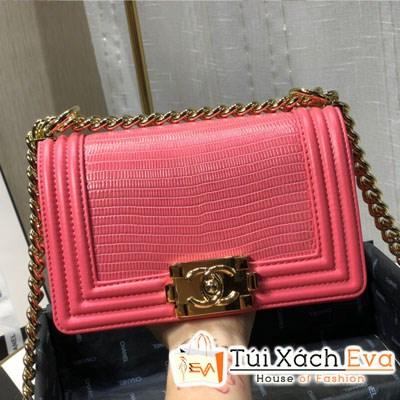 Túi Xách Chanel Boy Siêu Cấp Màu Hồng
