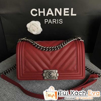 Túi Xách Chanel Boy Siêu Cấp Sọc V