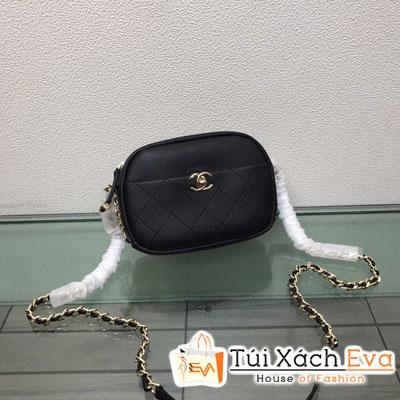 Túi Xách Chanel Camera Case Siêu Cấp Màu Đen Y84157