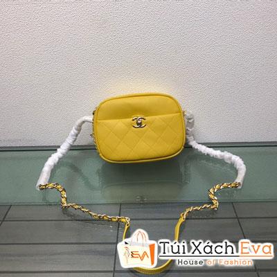 Túi Xách Chanel Camera Case Siêu Cấp Màu Vàng Y84157