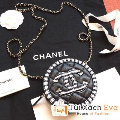 Túi Xách Chanel Tròn Siêu Cấp Màu Đen