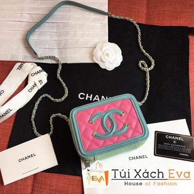 Túi Xách Chanel Case Siêu Cấp Màu Xanh Ngọc