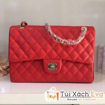 Túi Xách Chanel Classic F1 Màu Đỏ Đẹp